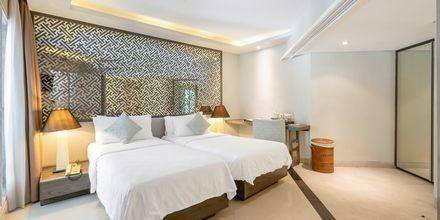 Deluxerum på hotell Segara Village, Bali, Indonesien.