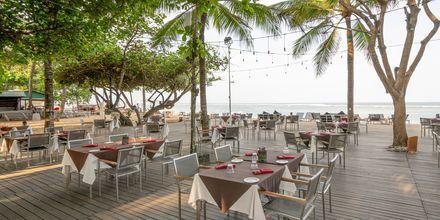Café på hotell Segara Village, Bali, Indonesien.