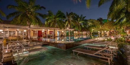 Kväll på hotell Segara Village, Bali, Indonesien.