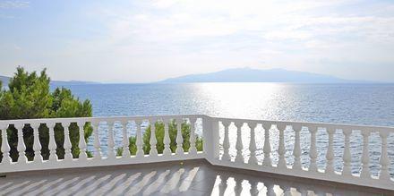 Utsikten från hotell Sejko i Saranda, Albanien.
