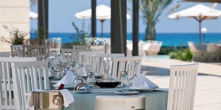 Restaurang på hotell Sentido Aegean Pearl i Rethymnon, Kreta.