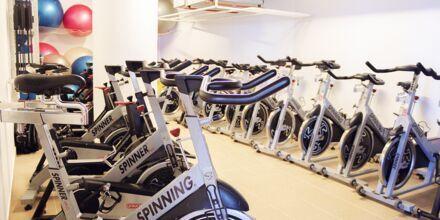 Gym på hotell Sentido Galomar på Madeira, Portugal.