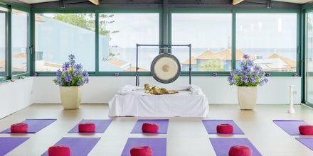 Yoga på hotell Sentido Galomar på Madeira, Portugal.