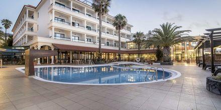 Pool på hotell Sentido Galomar i på Madeira, Portugal.
