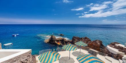 Havsvattenbadet Lido Galomar på hotell Sentido Galomar på Madeira, Portugal.
