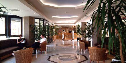 Lobby på hotell Sentido Pearl Beach i Rethymnon på Kreta.