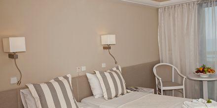 Dubbelrum på hotell Sentido Pearl Beach i Rethymnon på Kreta.