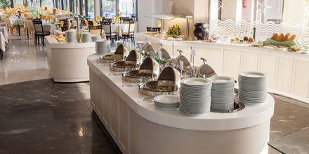 Restaurang på hotell Sentido Pearl Beach i Rethymnon på Kreta.