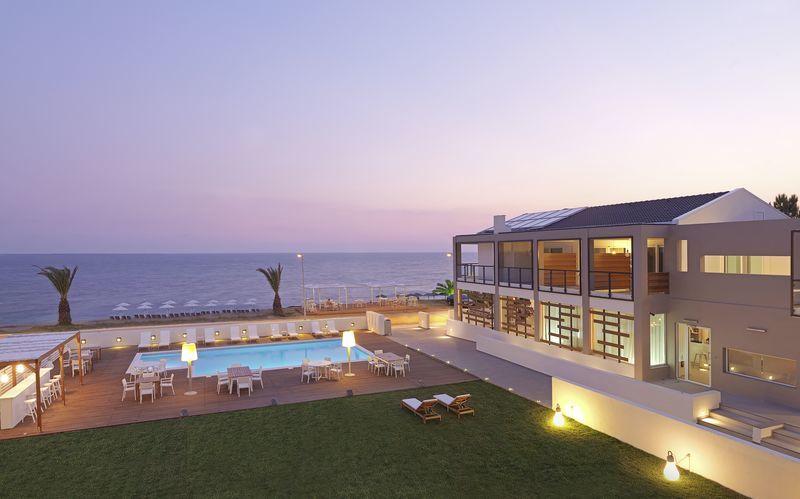 SESA Boutique Hotel i Kanali, Grekland.