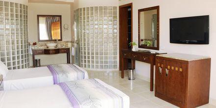 Superiorrum på hotell Shams Prestige Abu Soma i Soma Bay, Egypten.