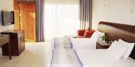 Dubbelrum på hotell Shams Prestige Abu Soma i Soma Bay, Egypten.