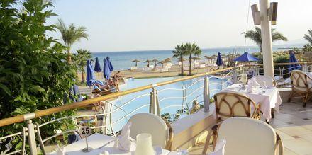 Restaurang på hotell Shams Prestige Abu Soma i Soma Bay, Egypten.