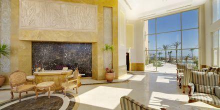 Reception på hotell Shams Prestige Abu Soma i Soma Bay, Egypten.