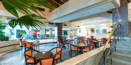 Restaurang på hotell Shams Safaga Resort i Abu Soma, Egypten.