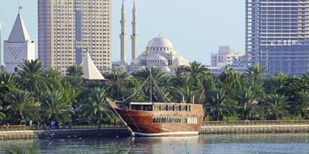 Dhow i Sharjah.