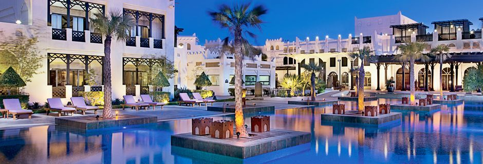 Femstjärniga hotellet Sharq Village & Spa i Doha, Qatar.