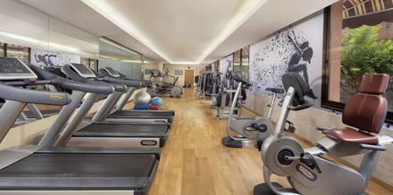 Gym på Sheraton Fuerteventura Beach, Golf & Spa Resort i Caleta de Fuste, Fuerteventura.