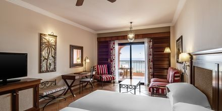 Deluxerum på Sheraton Fuerteventura Beach, Golf & Spa Resort i Caleta de Fuste, Fuerteventura.