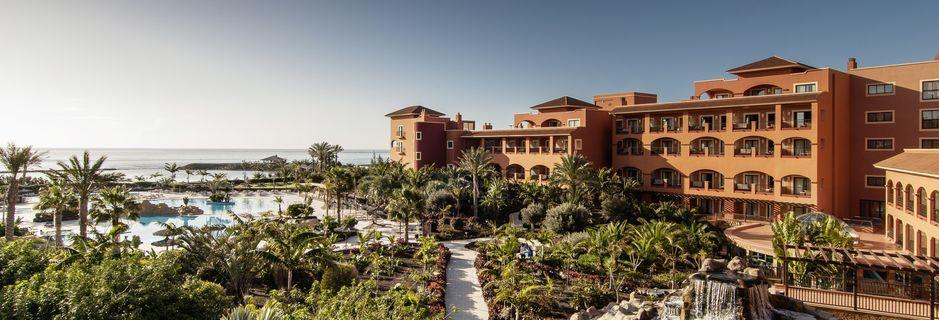 Sheraton Fuerteventura Beach, Golf & Spa Resort i Caleta de Fuste, Fuerteventura.
