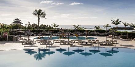 Poolområde på Sheraton Fuerteventura Beach, Golf & Spa Resort i Caleta de Fuste, Fuerteventura.