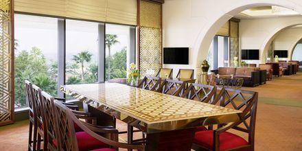 Club lounge på Sheraton Grand Doha Resort.
