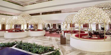 Hotellets restaurang Al Hubara.