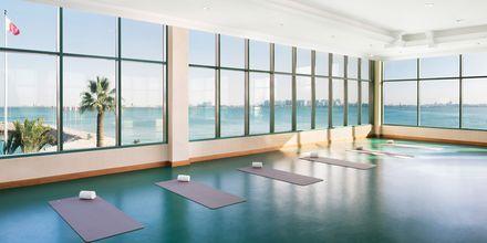 Yoga-rum på Sheraton Grand Doha Resort.