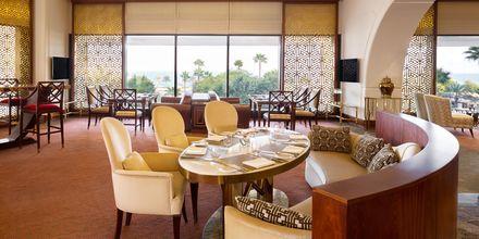 Club lounge på hotellet.