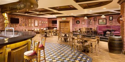 Irländska restaurangen Irish Harp på Sheraton Grand Doha Resort.