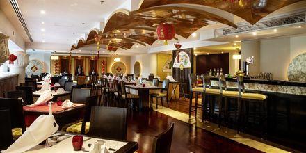 Restaurang Peacock på hotell Sheraton Jumeirah Beach Resort i Dubai, Förenade Arabemiraten.