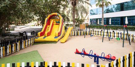 Lekplats på hotell Sheraton Jumeirah Beach Resort i Dubai, Förenade Arabemiraten.