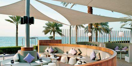 Bliss-loungebar på hotell Sheraton Jumeirah Beach Resort i Dubai, Förenade Arabemiraten.