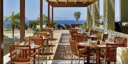 Huvudrestaurangen på hotell Sheraton Rhodes Resort på Rhodos, Grekland.