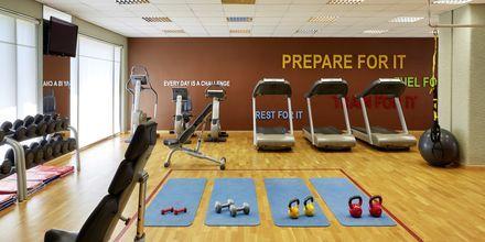 Fitness center på hotell Sheraton Rhodes Resort på Rhodos, Grekland.