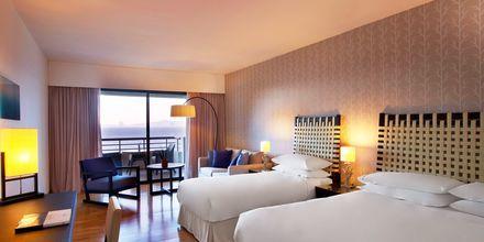 Familjerum på hotell Sheraton Rhodes Resort på Rhodos, Grekland.