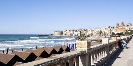 Cefalu på Sicilien.