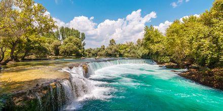 Vattenfallet i Manavgat, Turkiet.