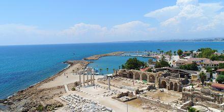 Apollo och Athenas tempel i Side, Turkiet.