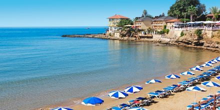 Strand i Side, Turkiet.