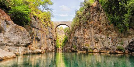 Manavgatfloden i Turkiet.
