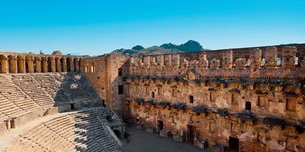 Amfiteatern i Side, Turkiet.