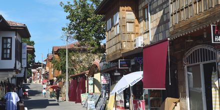 Gamla stan i Side, Turkiet.