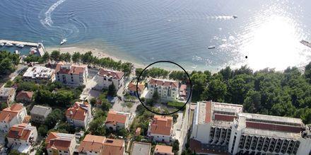 Hotell Simic i Makarska, Kroatien.