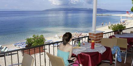 Restaurangen på hotell Simic i Makarska, Kroatien.