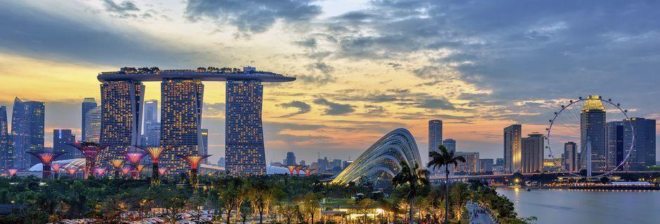 Singapore är Sydostasiens minsta land och ett Asien i miniatyr.