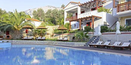 Pool på på Sirena Residence & Spa på Samos, Grekland.