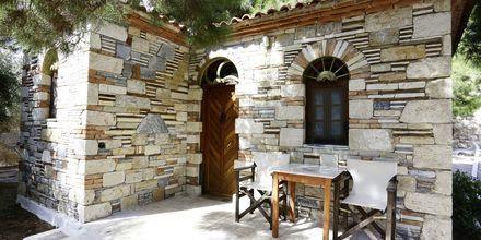 Enrumslägenhet på Sirena Village på Samos, Grekland.