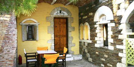 Tvårumslägenhet på Sirena Village på Samos, Grekland.