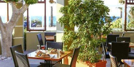 Restaurang på hotell Sirene i Ixia på Rhodos.
