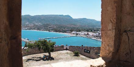 Vackra utsikter i Sitia på Kreta, Grekland.
